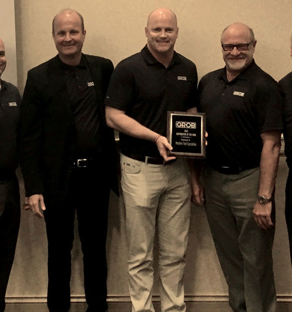Machine Tool Specialties wins 2017 GROB Distributor of the Year.